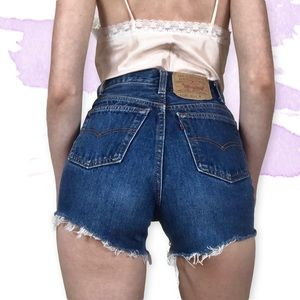 Pants - 🌸Vtg 80s 501 Levis Cutoff Shorts 23/24🌸